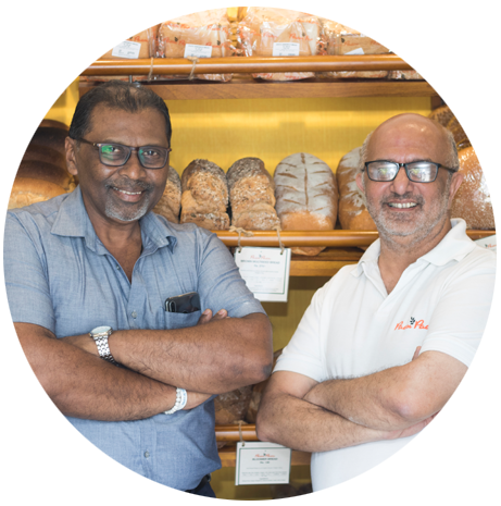 Aboo Yusuf and Chef Jagath Wijesinghe